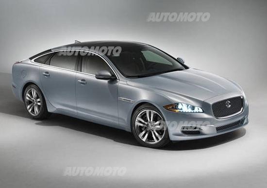 Jaguar XJ 2014: arriva il 4 cilindri turbo benzina da 240 CV