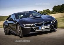 BMW i8: svelata ufficialmente