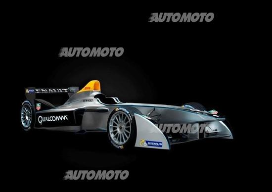 Spark-Renault SRT_01E: svelata a Francoforte la Formula E