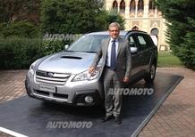 Armando Pachera, Subaru: «Outback 2.0D Linertronic ha soluzioni uniche tra le auto di segmento superiore»