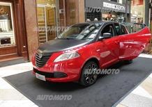 La Lancia Ypsilon S Momodesign protagonista a Milano