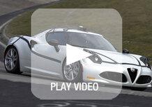 Alfa Romeo 4C: al Nürburgring gira in 8'04''
