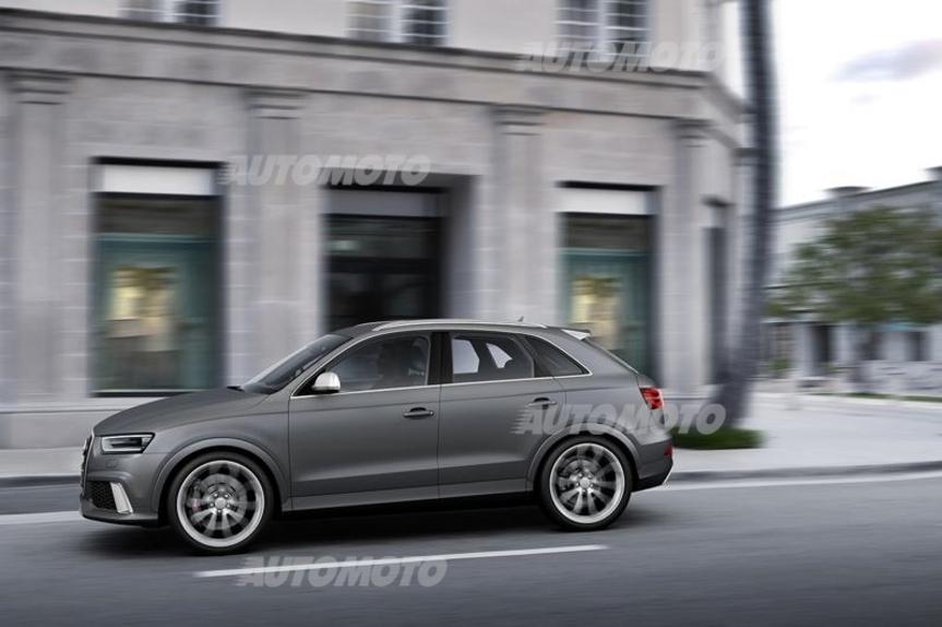 Audi rs q3 prove for Garage significato