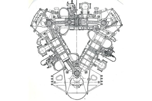 Complesso quanto si vuole, ma autentico capolavoro della tecnica motoristica, il Napier Deltic a 18 cilindri (e 36 pistoni) aveva tre alberi a gomiti. Alcuni esemplari vengono impiegati ancor oggi