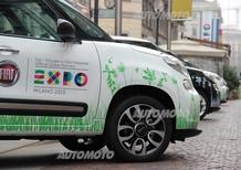 Fiat: consegnate le prime 500L per l'Expo Milano 2015