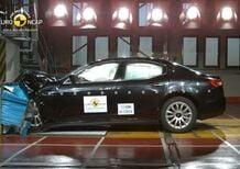 Maserati Ghibli 5 stelle Euro NCAP