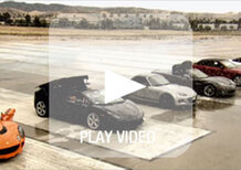 Supercar cabrio, sfida in accelerazione: a sorpresa vince la Mazda MX-5