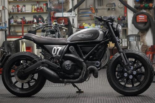 #BehindTheScramblers, ecco le 5 special Ducati Scrambler