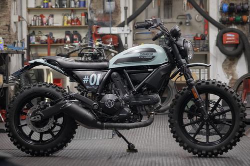 #BehindTheScramblers, ecco le 5 special Ducati Scrambler (4)
