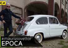 Epoca auto e personaggi. La mitica Fiat 600d [Video]