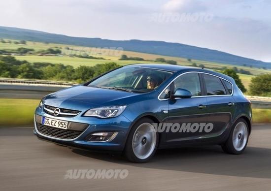 Opel Astra: ora con 1.6 CDTI da 110 CV