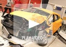 Volvo: cosa significa assistere ad un crash test in diretta