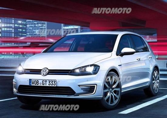 Volkswagen Golf GTE: l'ibrida plug-in che si sente una GTI