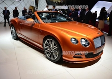 Bentley al Salone di Ginevra 2014