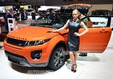 Land Rover al Salone di Ginevra 2014
