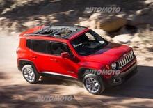 Jeep Renegade: nuove informazioni e immagini ufficiali