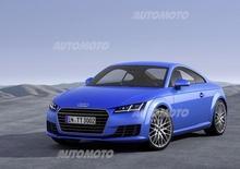Nuova Audi TT: ecco tutti i dettagli della terza generazione