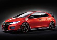 Honda Civic Type-R Concept: eccola senza veli