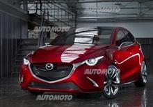 Mazda Hazumi concept: ecco come sarà la futura Mazda2