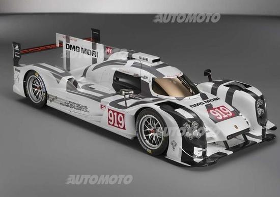 Porsche 919 Hybrid: svelate le caratteristiche tecniche