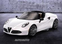 Alfa Romeo 4C Spider: eccola in versione semi-definitiva