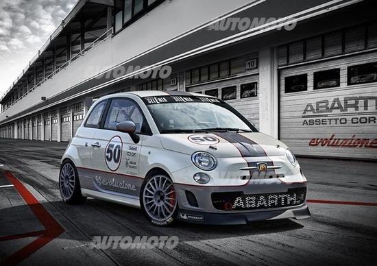 Abarth 695 Assetto Corse Evoluzione