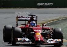 Alonso: «La Ferrari è affidabile, ma deve recuperare terreno dalla Mercedes»