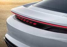 Porsche: ecco Mission E, la visione del futuro del brand