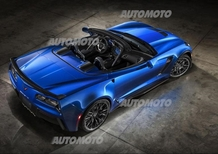 Nuova Corvette Z06 Convertible