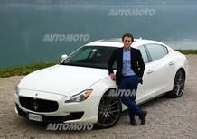 Camerini, Maserati: «Quattroporte Diesel è la scelta più razionale, ma non rinuncia all'emozione»