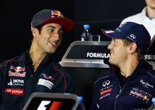 Formula 1 Cina 2014: Vettel soffre il pupo Ricciardo