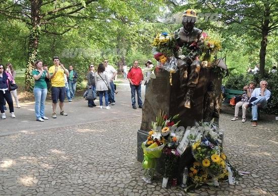 Memorial Ayrton Senna a Imola: il ricordo con gli occhi Miloš Pavlović
