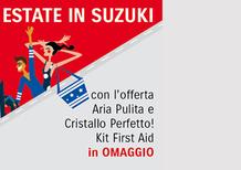 Estate in Suzuki: una promozione estiva sulla manutenzione dell'auto