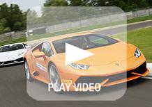 Accademia Lamborghini: a lezione di guida con Huracán e Aventador