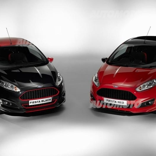 ford fiesta red e black edition news. Black Bedroom Furniture Sets. Home Design Ideas