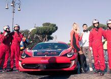 Pit-stop Ferrari per Amatrice: il video da Roma