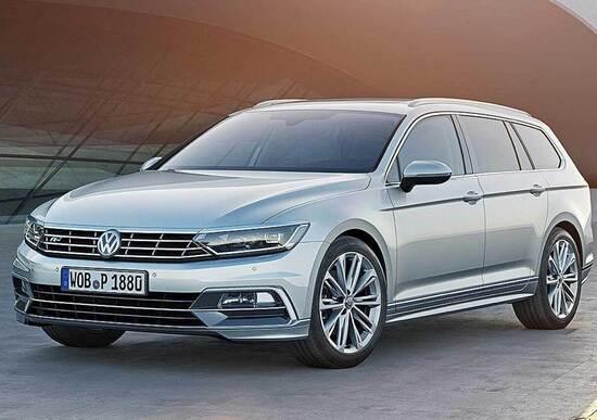 Nuova Volkswagen Passat: una rivoluzione. Tanti spigoli e tecnologia a pioggia