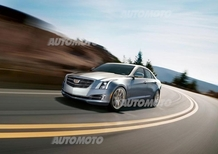 Cadillac ATS Sedan restyling