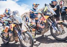 Dakar 2017. 3a Tappa. Price Knock-Down, Barreda (Honda) Vola