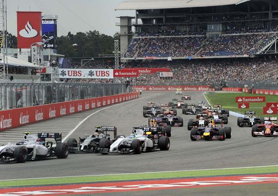Formula 1 Germania 2014: Bernie Ecclestone inventa la pubblicità virtuale