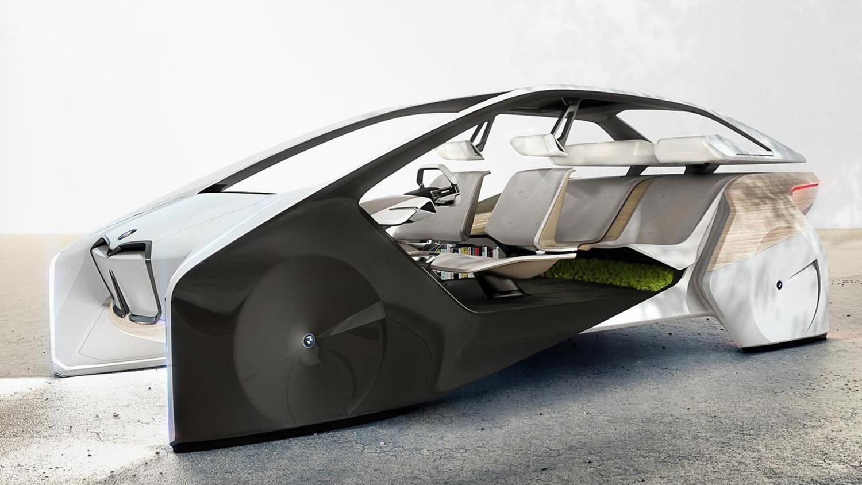CES 2017, BMW i Inside Future concept: futuro a comandi gestuali