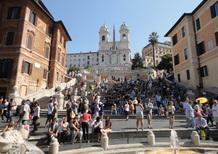 Roma: centro storico. Al via il progetto del Tridente pedonale che comprende piazza di Spagna