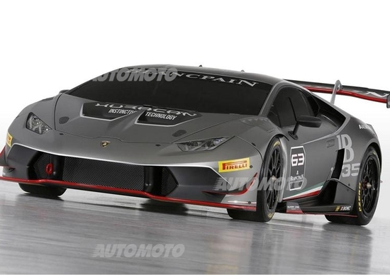 Lamborghini Huracán Super Trofeo: tutti i dati ufficiali della nuova belva