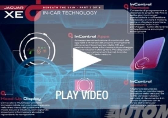 Jaguar XE: ecco di cosa è capace il nuovo sistema di infotainment InControl
