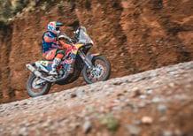 Dakar 2017. 5a Tappa. Sunderland (KTM), Vittoria e Ledership
