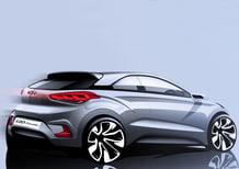 Hyundai i20 Coupé: prima immagine ufficiale