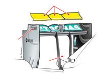 Formula 1 Monza 2014: i segreti (aerodinamici) della Mercedes