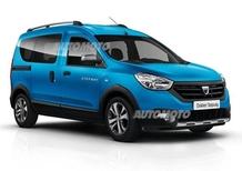 Dacia Lodgy e Dokker, voglia di avventura: arrivano le versioni Stepway