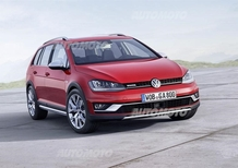 Volkswagen Golf Alltrack: la dodicesima Golf 7 in 24 mesi