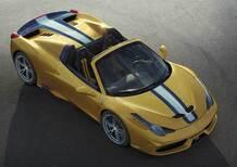 Ferrari 458 Speciale A: perde il tetto, ma solo per pochi